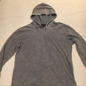 PacSun Men's Lightweight Hoodie (Gray)